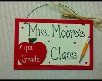 Teacher school gift for Christmas birthdays, appreciation