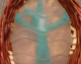 Easter Bunny in a Soap Egg
