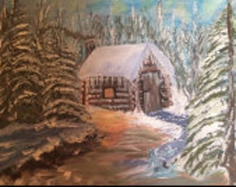 A Winter Cottage