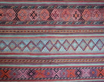 FREE SHIPPING 10 by 5 Ft Antique Soumak Qalaty Pattern Tribal Area Rug