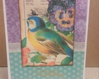 Anniversary Bird Card