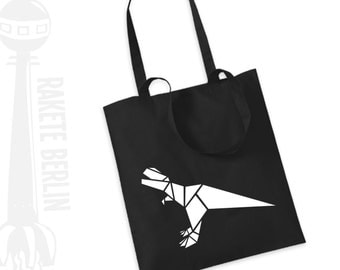 Tote Bag  'Dinosaur T-Rex Origami'