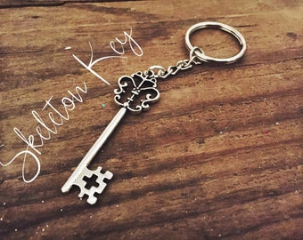 Simple Skeleton Key Keychain