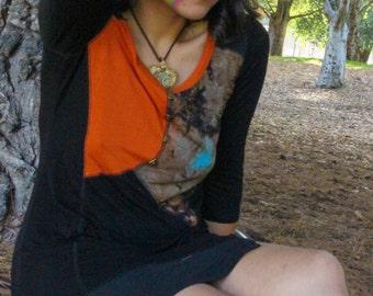 tie dye mystical dress