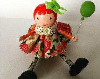 Little Wooden Dolly cake topper (PG1)