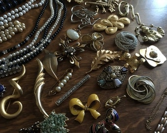 REDUCED PRICE!  72 Items of Costume Jewelry