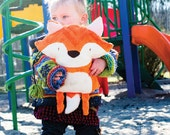 Soft toy, Lovy, Adorable little fox