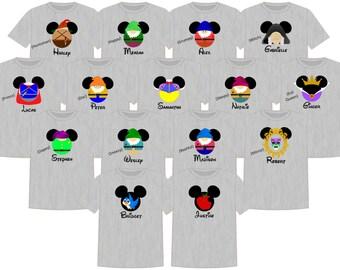 Disney Shirt SNOW WHITE GROUP Disney Vacation Group Shirts