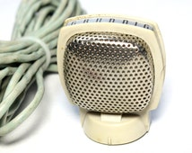 Vintage Grundig Microphone. It has full Cable. Made in Germany Mike - Microphone. Audio, Record Souvenir. German Record, Music Untensils
