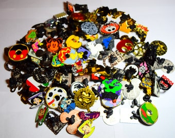 25 Bulk Disney Trading Pin Lot Disneyland Disneyworld of Randomly Selected Pins