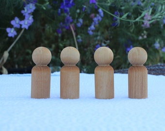 Waldorf Peg Dolls Set of 4
