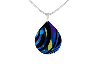 Jazz Dark Blue Pendant/Jewelry/Fashion Jewellery/Necklace