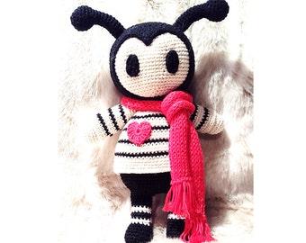 BUG Crochet Pattern, Ani