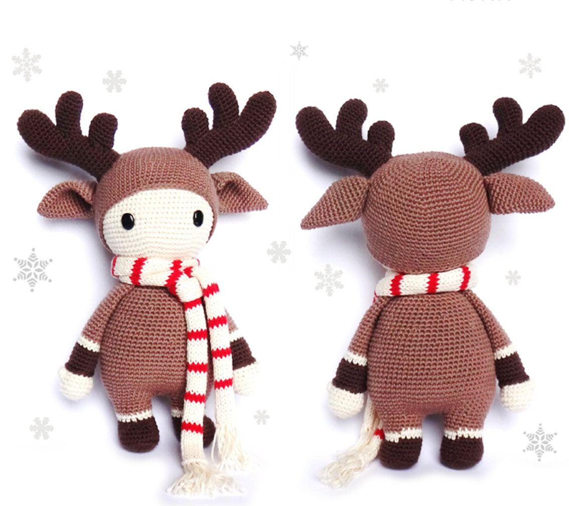 Reindeer crochet pattern timmy from rokiki on etsy studio this is a digital file bankloansurffo Choice Image