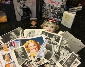 Marvelous Mega 100 Piece Marilyn Ephemera Package