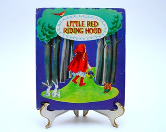 Little Red Riding Hood, Vintage Children's Book, Whitman Tell-A-Tale Books, 1959