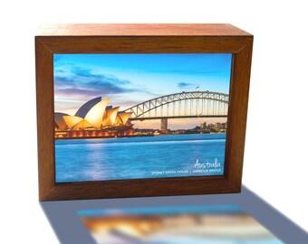 Sydney Harbour Bridge and Opera House Australia