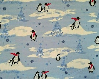 Flannel, cloth of penguins