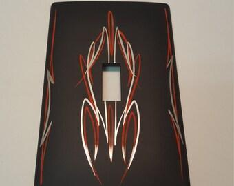 Kustom Pinstriped Light Switch Cover