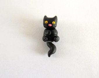 Mini Kitty Pendant - You Choose Colour!