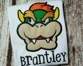 Bowser - super Mario brothers - Nintendo game shirt