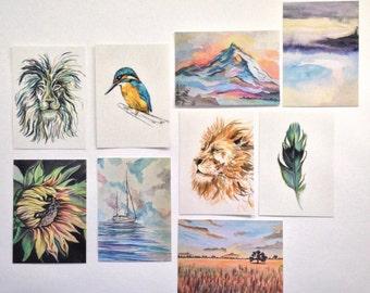 Postcards (set of 6)