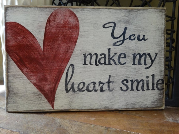 Items similar to Valentine's Day Sign Conversation Hearts ... |Valentine Hand Painted Wood Signs