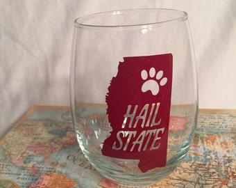 Mississippi State glasses!