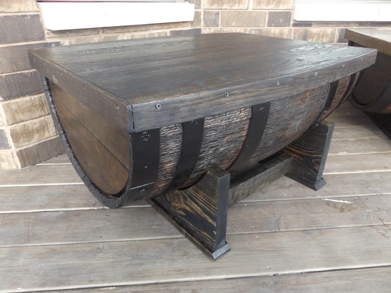 Handmade Wine Barrel Coffee Table Wine Barrel Furniture