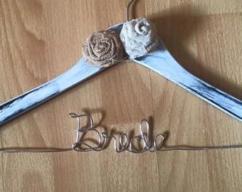 Rustic Bridal hanger
