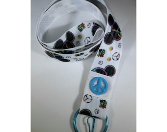 Lanyard - Mickey Mouse Peace
