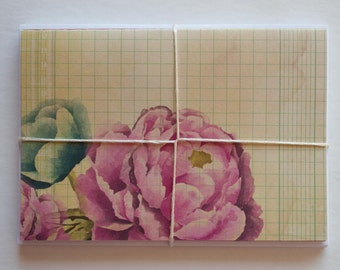 note cards, stationery cards, stationary set, blank cards, blank note cards, note card set, modern stationary, floral stationery, old paper