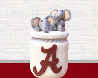 Alabama Crimson Tide Candle