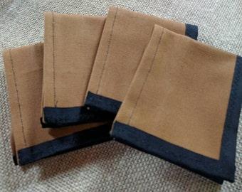 Brown Canvas Wallet