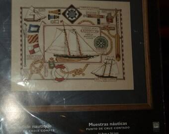 Nautical Sampler Cross Stitch Kit