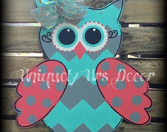 Owl Door Hanger, Door Hanger