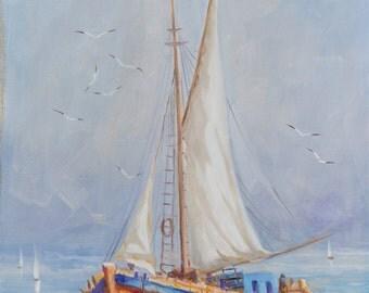 Fishing Boat in the Aegean