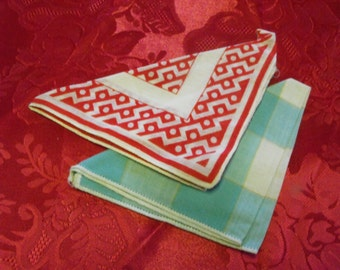 2 Fun Little Vintage Hankies