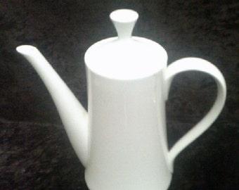 Mikasa Sophisticate White Coffee Pot