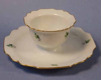 Augarten Wien Austrian Porcelain Egg Cup