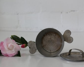 small vintage french cooking pot