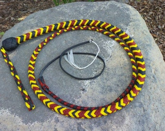 nylon snake whip (made to order)