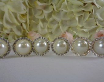 Set of 6 Vintage Style Brooch Pins