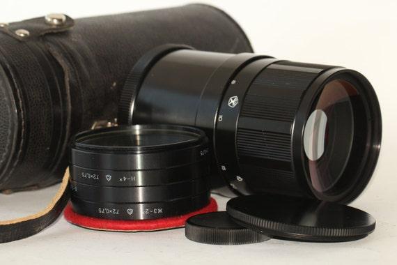 MC 3M-5CA 8/500 unique soviet mirror lens M42 mto 500 for Sony NEX EF E N890822