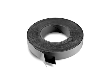 """1"""" X 25' Roll Adhesive Magnetic Tape - 30 mil"""
