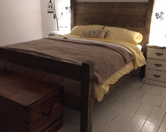 Reclaimed Solid King Size Bed
