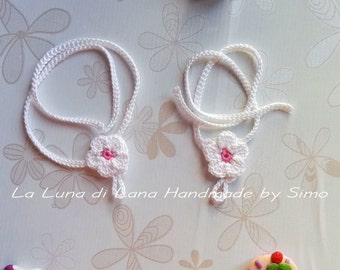Barefoot sandals for baby girl, get to crochet