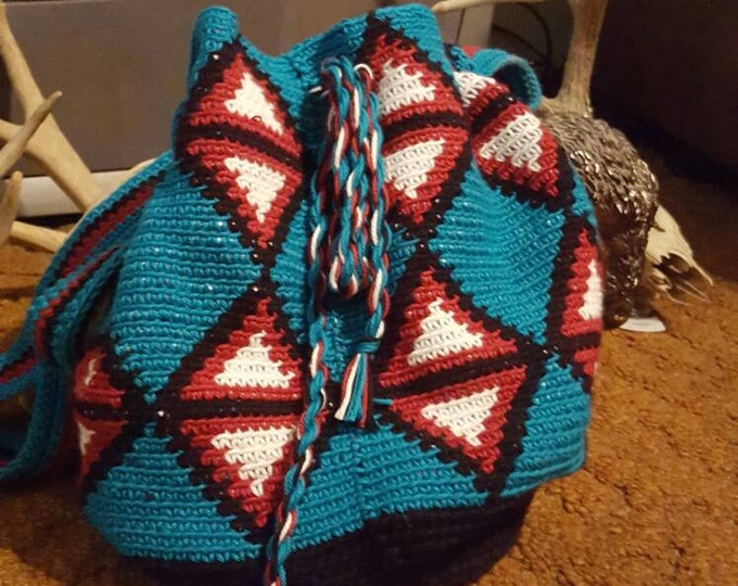 Crochet Wayuu Bag