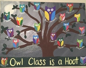 Owl class painting