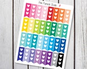 Mini Heart Checklists Planner Stickers Designed for Erin Condren Life Planner Vertical